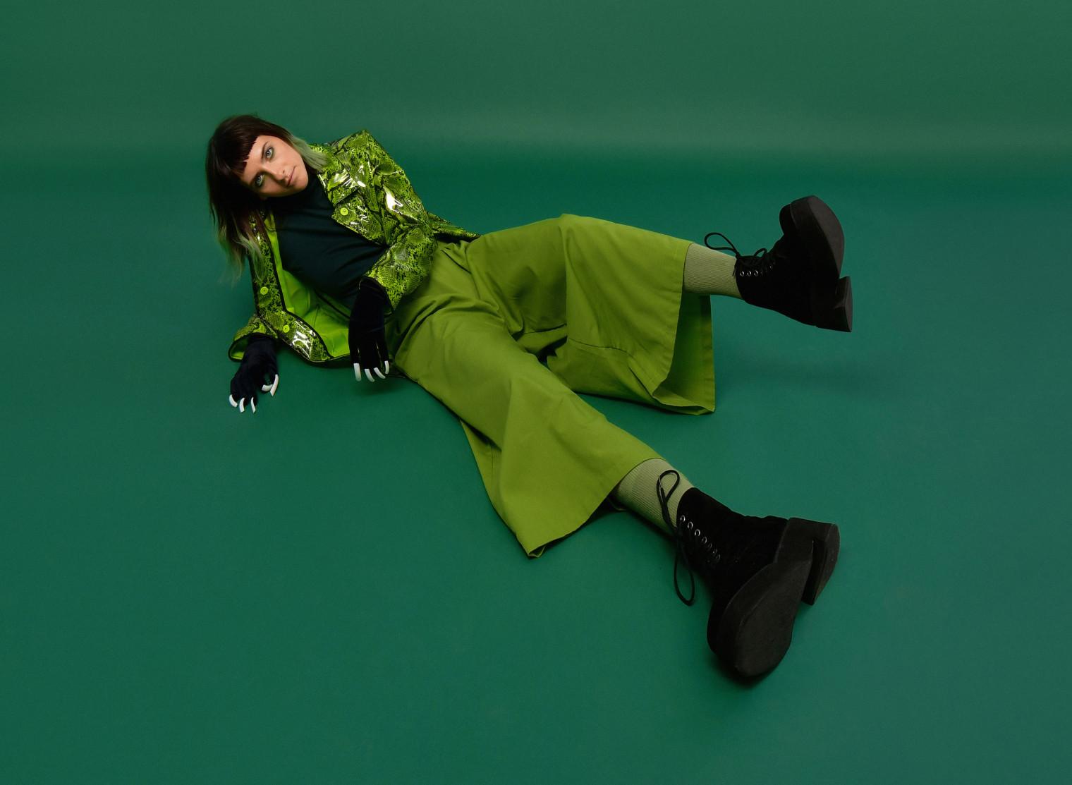 laurence-anne suit vert