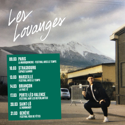 Les Louanges is back in France and Switzerland