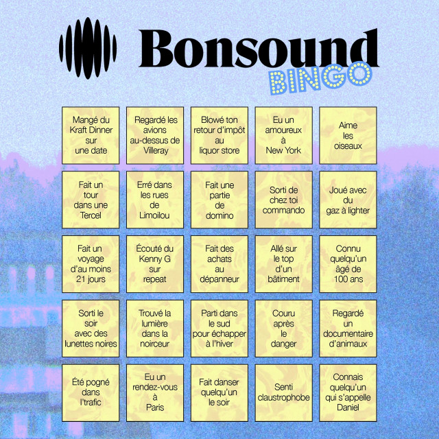 Play our quarantine bingo!